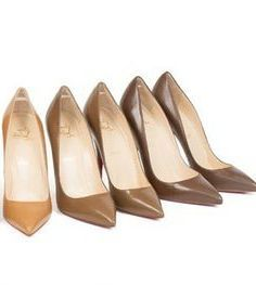 Nude Shoes for dark skin | Dark Nude Shoes | Pinterest | The o ...