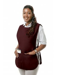 This small cobbler apron has full rounded styling, two center divided pouch pockets, and adjustable side ties for a perfect fit. This Cobbler Apron is perfect for Teachers, Supermarkets and Pharmacy. Chicken Costumes, Cobbler Aprons, Corporate Uniforms, Lab Coats, White Apron, Clothing Logo, Couture, Costume Design, Smocking