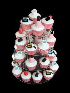 Makeup cupcakes