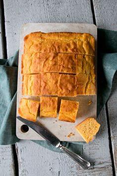 Süßkartoffel Maisbrot. Fluffig, Saftig und sogar glutenfrei.