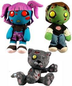 I love this zombie kitty!!