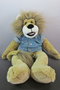 "Vintage 1994 Macy's 24"" Rowland Lion Plush Stuffed Animal Puppet #TarshaInternational #vintage #Lion #Macys"