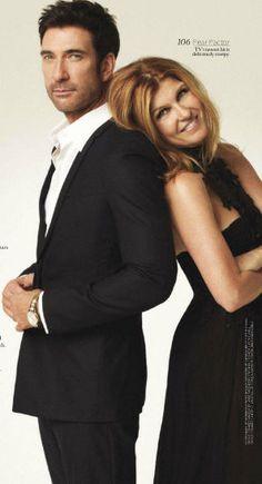 Dylan McDermott and Connie Britton -Season 1 - American Horror Story