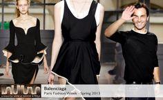 Balenciaga Spring 2013 collection