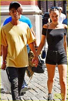 Jaden Smith Holds Girlfriend Sarah Snyder's Hand in NYC …