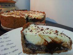 Receitas práticas de culinária: Tarte de limão e chocolate