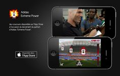 App adidas-extreme-power Applications Mobiles, Adidas, Mobile Application, Phone, Gaming, Telephone, Mobile Phones