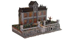 Lego : Cette version de l'asile d'Arkham est absolument… folle ?