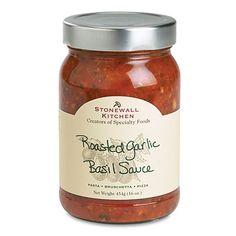 Roasted Garlic Basil Sauce 16oz. $6.50