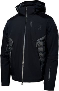 Spyder Ski Jackets are fit to keep any type of skier warm. Whether you're searching for a Spyder men's or women's jacket, Christy Sports has you covered with Spyder clothing this winter. Outdoor Men, Sportswear, Jackets For Women, Menswear, Men's Fashion, Style Essentials, Men's Jacket, Men Clothes, Outfits