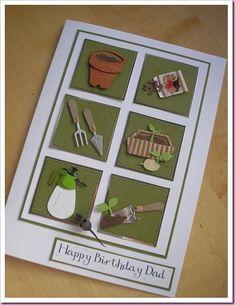 """Birthday Card for A Gardener"" - Helen - Apr 8/10"