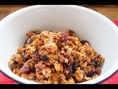 Müsli / Granola selber machen mit Marie von Snukieful - Gesundes Frühstück - Kokos Knuspermüsli - YouTube