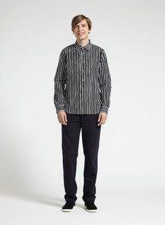 Jokamies-paita (musta, valkoinen) |Vaatteet, Miehet, Puserot ja t-paidat | Marimekko