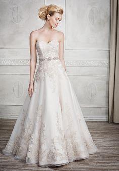 Kenneth Winston wedding dress   Style: 1669   http://trib.al/AwrenwV