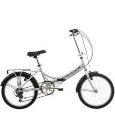 Mizani City+ 20 Inch Folding Bike Silver - Unisex'.