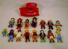 Large Lot of GEOBRA PLAYMOBIL people submarine toys figures B USED