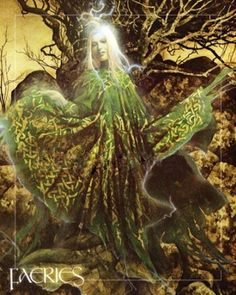 Glaistig from Brian Froud's Faeries