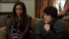 Ethan and Sarah sitting close My Babysitter's A Vampire, Vanessa Morgan, Babysitters, Disney Channel, Fictional Characters, Fantasy Characters