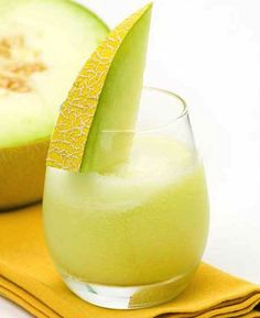 Cool down with a healthy treat. The Skinny Ms. Melon Breeze Smoothie!
