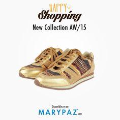 Happy Shopping by MARYPAZ    Compartimos con vosotras nuestras deportivas tendencia en piel New Collection AW/15 que te enamorarán y querrás tener en tu Wish List este Otoño-Invierno 2015  #happyshopping #trendy #moda #cool #shoesandthecity #streetstyle #locaporlamoda #cityMARYPAZ #streetstyleMARYPAZ #autumnwinter15 #otoñoinvierno15  #AW15 #OI15 #newcollection  Shop at ► http://www.marypaz.com/tienda-online/deportiva-de-piel-multitextura-47898.html?sku=72393-35