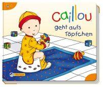 Caillou geht aufs Tröpfchen, Mami hat eine Überraschung für Caillou: ein Töpfchen! In diesem liebevoll illustrierten, pädagogisch wertvollen Caillou-Bilderbuch lernen Kinder spielerisch, wie man ein Töpfchen benutzt.