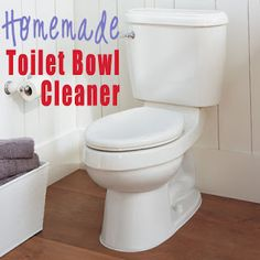 how-to make homemade toilet bowl cleaner