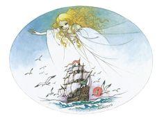 "haruchonns: ""にんぎょひめ 画:高橋真琴 The Little Mermaid illustration:Macoto Takahashi "" Siren Mermaid, Mermaid Fairy, Mermaid Illustration, Manga Illustration, Disney Little Mermaids, The Little Mermaid, Hans Christian, Betty Boop, Manga Art"