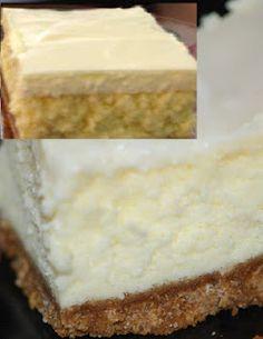 Grandma's Easy and Delicious 9x13 Cheesecake recipe. NO springform pan needed!