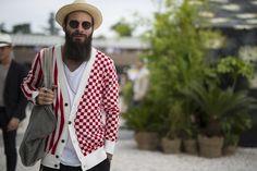 Galeria de Fotos Os looks de street style da temporada masculina Verão 2016 // Foto 134 // Notícias // FFW