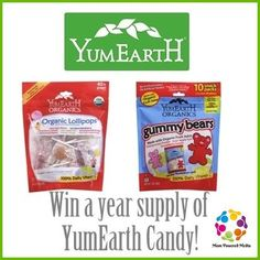 WIN A YEARS WORTH OF CANDY