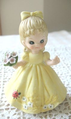 CLEARANCE Vintage George Good Figurine August by Vintagegirlsfinds, $18.00 On Clearance ~ Reg. 22.00