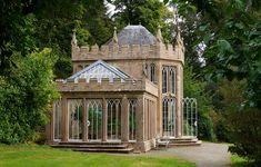 Culzean Castle, Scotland | Gothic camellia house