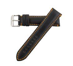Hadley Roma 22mm Orange Contrasting Stitching Oil Tan Men's Leather Watch Strap Hadley Roma http://www.amazon.com/dp/B00876Y04G/ref=cm_sw_r_pi_dp_ByiQub0RPS5HB