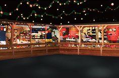 表参道ヒルズでクリスマスマーケットが開催 - お菓子が廻るメリーゴーランドやフード、グッズなど | ニュース - ファッションプレス