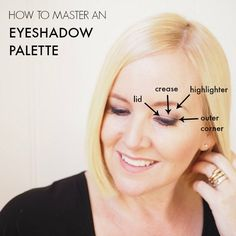How to master as eyeshadow palette