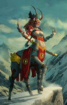 Mountain lordess