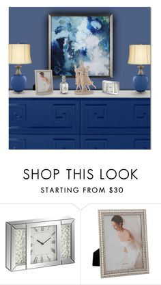 """Make It A Bue Room"" by victorianheaven ❤ liked on Polyvore featuring interior, interiors, interior design, home, home decor, interior decorating and Universal Lighting and Decor"
