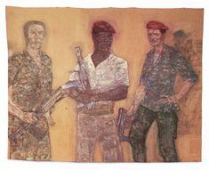 Mercenaries I 1979 Acrylic on canvas 305 x 416.6 cm