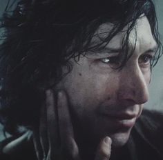 Gosh, our boy is so handsome. His faces in this scene… so beautiful. Star Wars Film, Star Wars Kylo Ren, Star Wars Art, Kylo Ren And Rey, Kylo Ren Adam Driver, Star War 3, The Force Is Strong, Love Stars, Film Serie