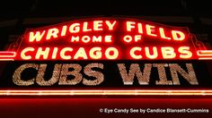 Love when the Chicago Cubs win! #chicago #cubs #baseball #wrigleyfield