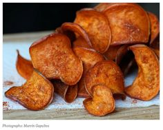How to: Make Barbecue Sweet Potato Chips at Home
