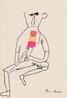 Ice Cream  Ben Shahn