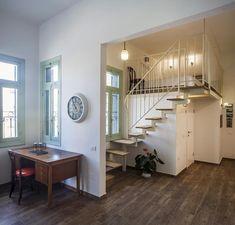 """קטנה קטנה, אבל מתוחכמת: עיצוב דירת 50 מ""""ר לרווק ביפו   בניין ודיור"""