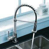Found it at AllModern - One Handle Single Hole Pull Out Spiral Kitchen Faucet