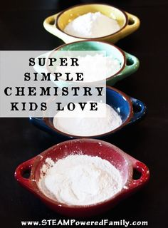 Super Simple Chemistry Kids Love For the home classroom camp or troop this fun chemistry kids activity is educational messy fun Science Activities For Kids, Preschool Science, Elementary Science, Teaching Science, Science Education, Science Ideas, Stem Activities, Science Projects, Science Classroom