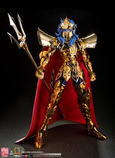 Saint Cloth Crown Sea Emperor Poseidon