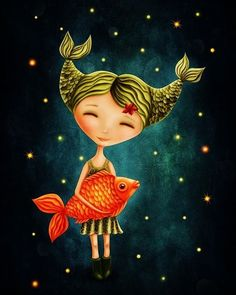 Pisces are compassionate and empathetic, often putting others' needs first. Ruled by Neptune, Pisces is imaginative, intuitive, and incredibly creative. Astrology Pisces, Capricorn And Aquarius, Zodiac Horoscope, Astrological Sign, Horoscopes, Zodiac Art, Zodiac Signs, Los Astros, All About Pisces