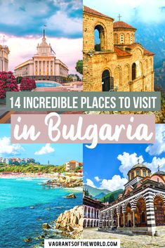 Looking for things to do in Bulgaria? We have handpicked some of the best places to visit in Bulgaria, each with something different to offer. Travel Around Europe, Europe Travel Guide, Travel Around The World, Travel Destinations, Best Places To Travel, Cool Places To Visit, Beautiful Places To Travel, Paradise Places, Sofia Bulgaria