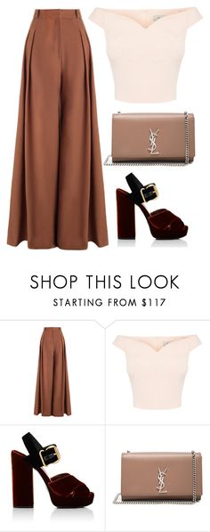 """Untitled #201"" by pehpalad ❤ liked on Polyvore featuring Zimmermann, Prada and Yves Saint Laurent"