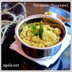 Thengai thogayal/coconut thogayal